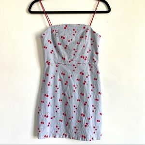 Urban Outfitters Bodycon Cherry Dress for Summer